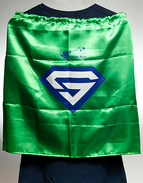 Gabriel's Horn Foundation Kids Superhero Cape