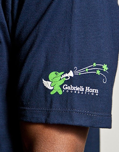 Gabriels Horn Foundation Superhero Mens T-shirt