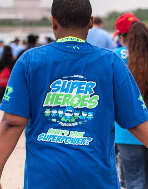 Gabriels Horn Foundation Superhero T-shirt 2015 back