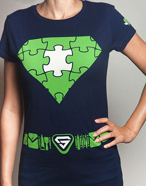 Gabriels Horn Foundation Superhero Women's T-shirt